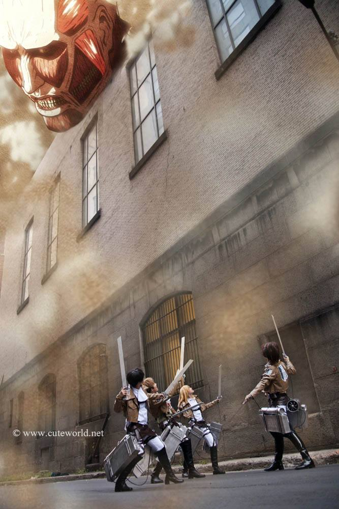 Attack on Titans - Attack! by Ryukai-MJ