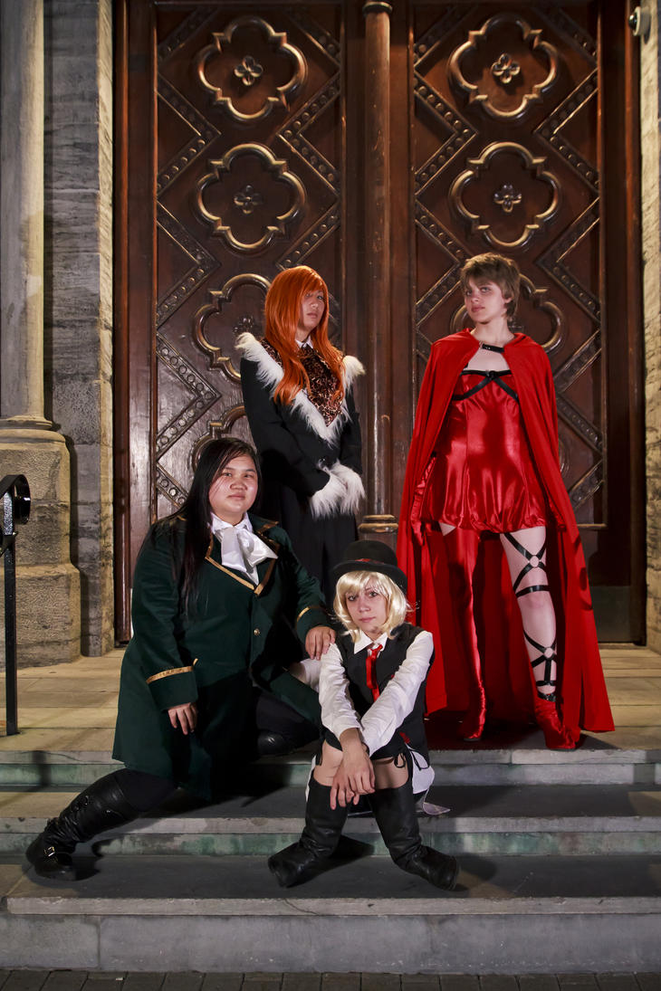 Ludwig Kakumei - Group shoot by Ryukai-MJ