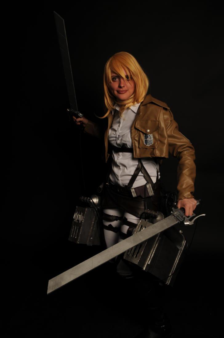 Attack on Titans - Christa II by Ryukai-MJ