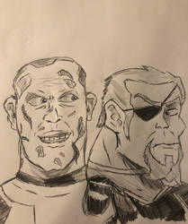 Deadpool N' Deathstroke #1 Unmasked