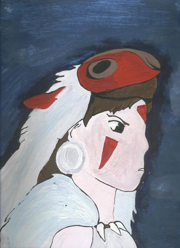Mononoke Hime by Caranth