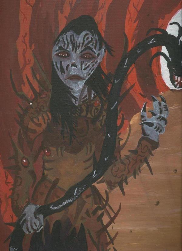 Yuzzhan Vong Warrior by Caranth