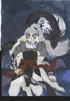 Inu no Taisho and Sou'unga by Caranth