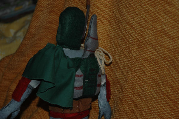 Boba Fett Plushie,from back by Caranth