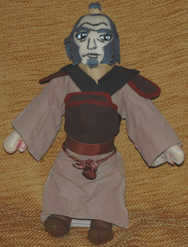 Iroh Plushie by Caranth