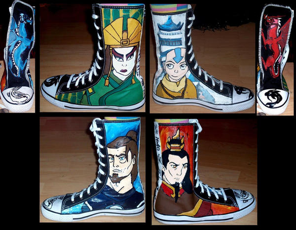 Avatar Shoes by Caranth