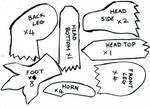 Haku plushie pattern part 2
