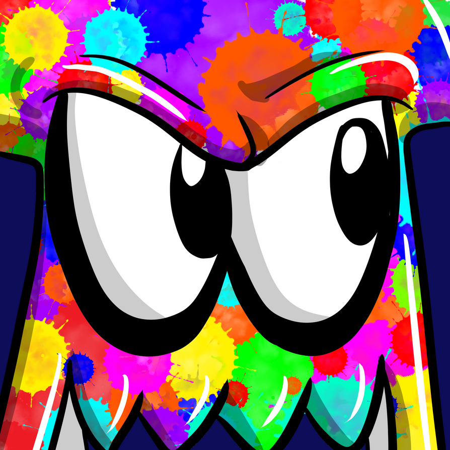You're a squid now- Icon by CrazyWackyBonkerz