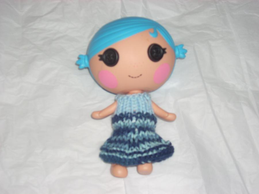 Knit Lalaloopsy Littles Dress by MamaDoom823
