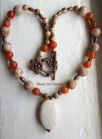 Stone Goddess Necklace by IdolRebel