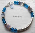 Blue Tribal Bracelet