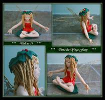 Oona the Yoga Fairy Doll OOAK by Forestina-Fotos
