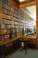 The Library of Infinity 2 by Forestina-Fotos