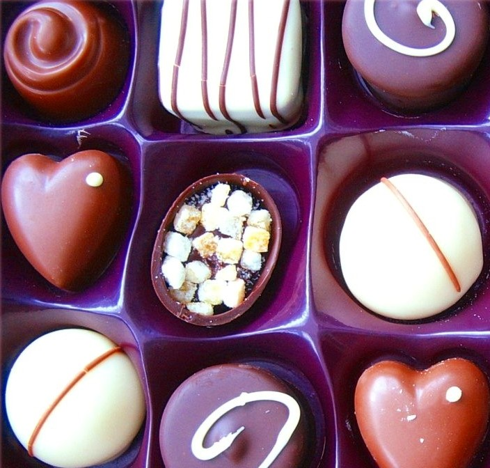 I HEART chocolates by Forestina-Fotos