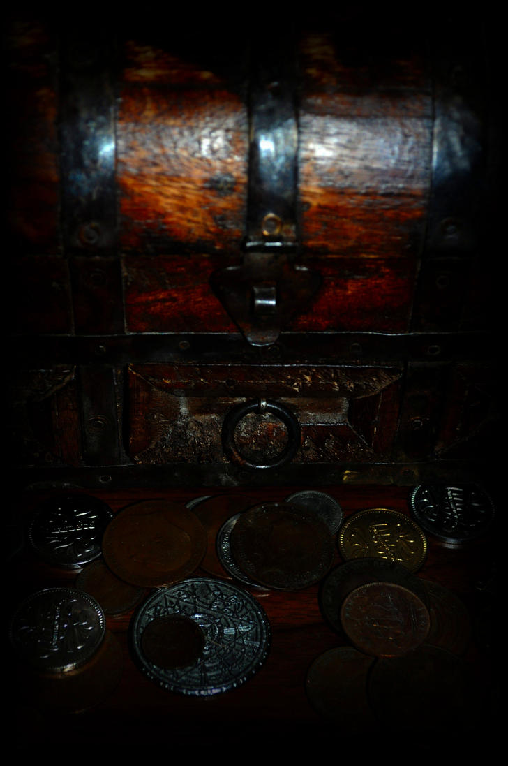 Treasure Chest by Forestina-Fotos