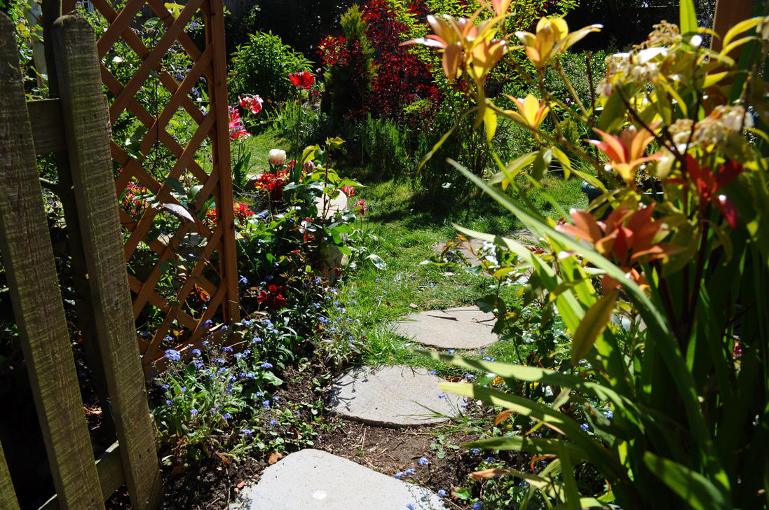 Beyond The Garden Gate 2 By Forestina Fotos On Deviantart