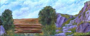 Imaginary Landscape Work in progress 2