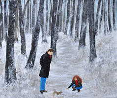 Woodland Walk  - work in progress by Forestina-Fotos