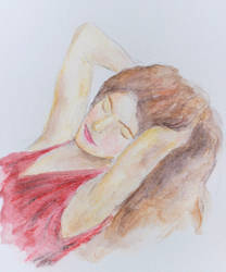 Watercolour Pencil practice