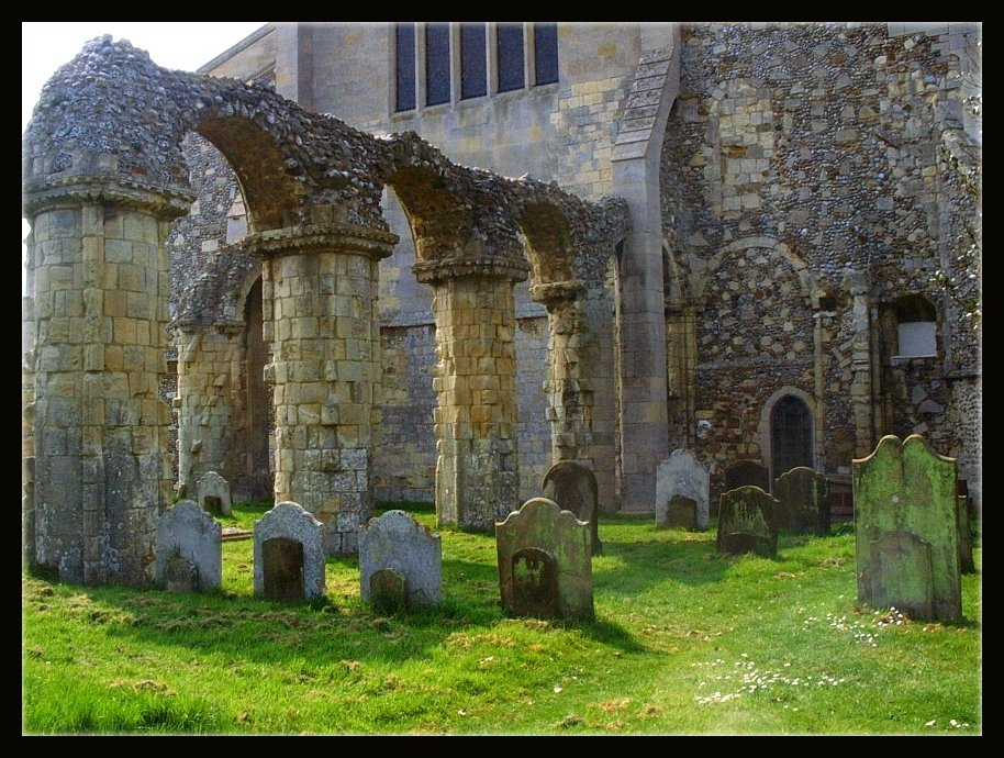Church Ruin by Forestina-Fotos