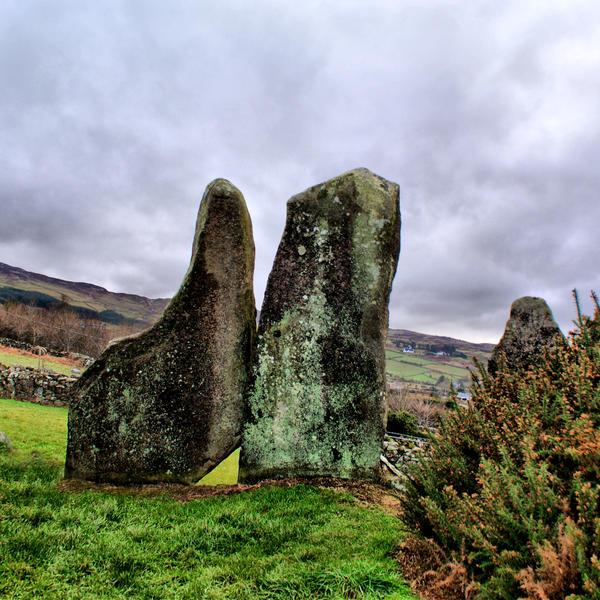 Clontygora Standing Stones by ottomatt
