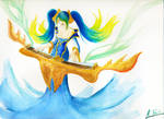 league of legend - Sona