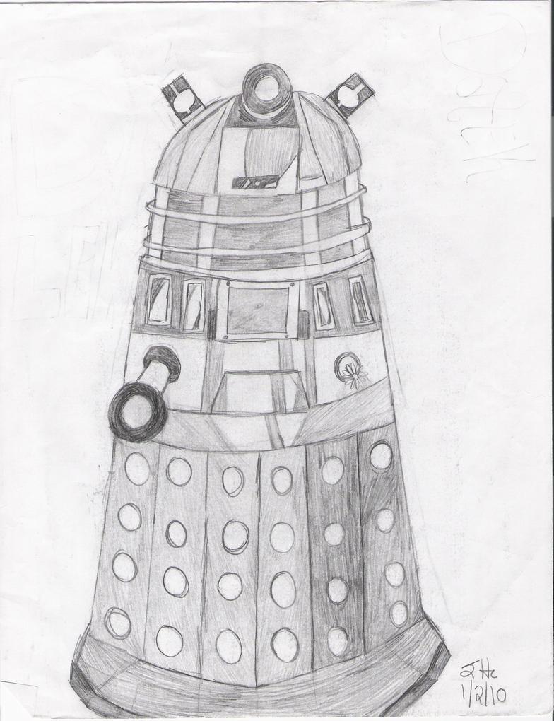 Dalek by godzillas-slave