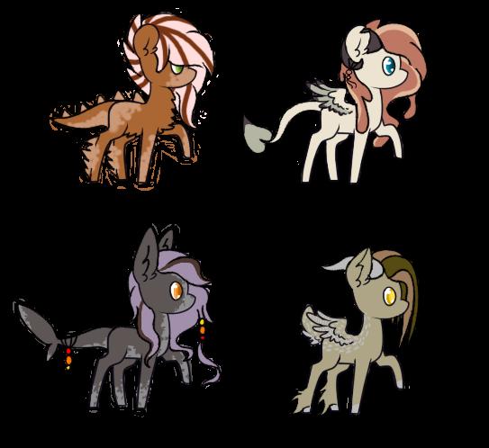 40 Point Pony Adopts 3/4 OPEN by Tasuki7912
