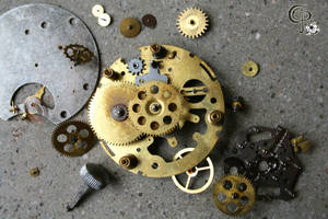 Exploded Watch by CERose
