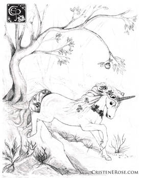 Unicorn of the Forest