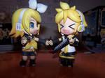 Nendoroid Rin and Len