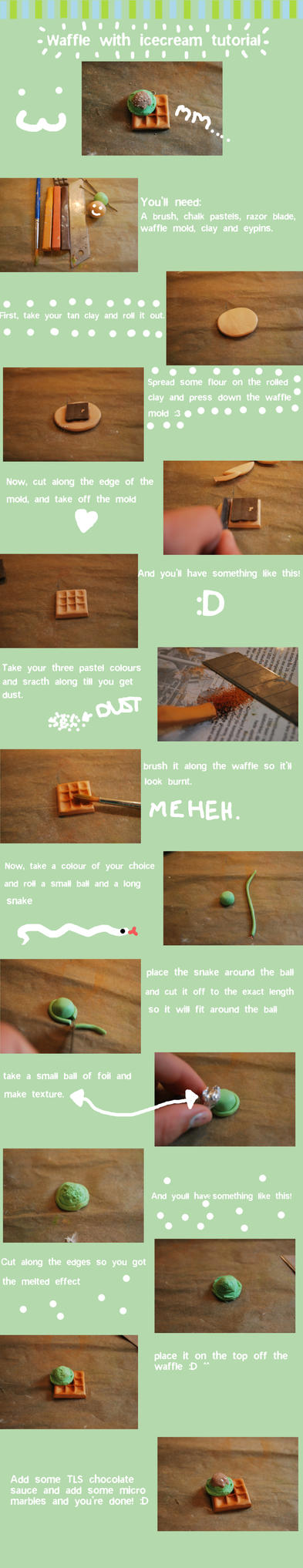 Waffle tutorial :D by SolenGV