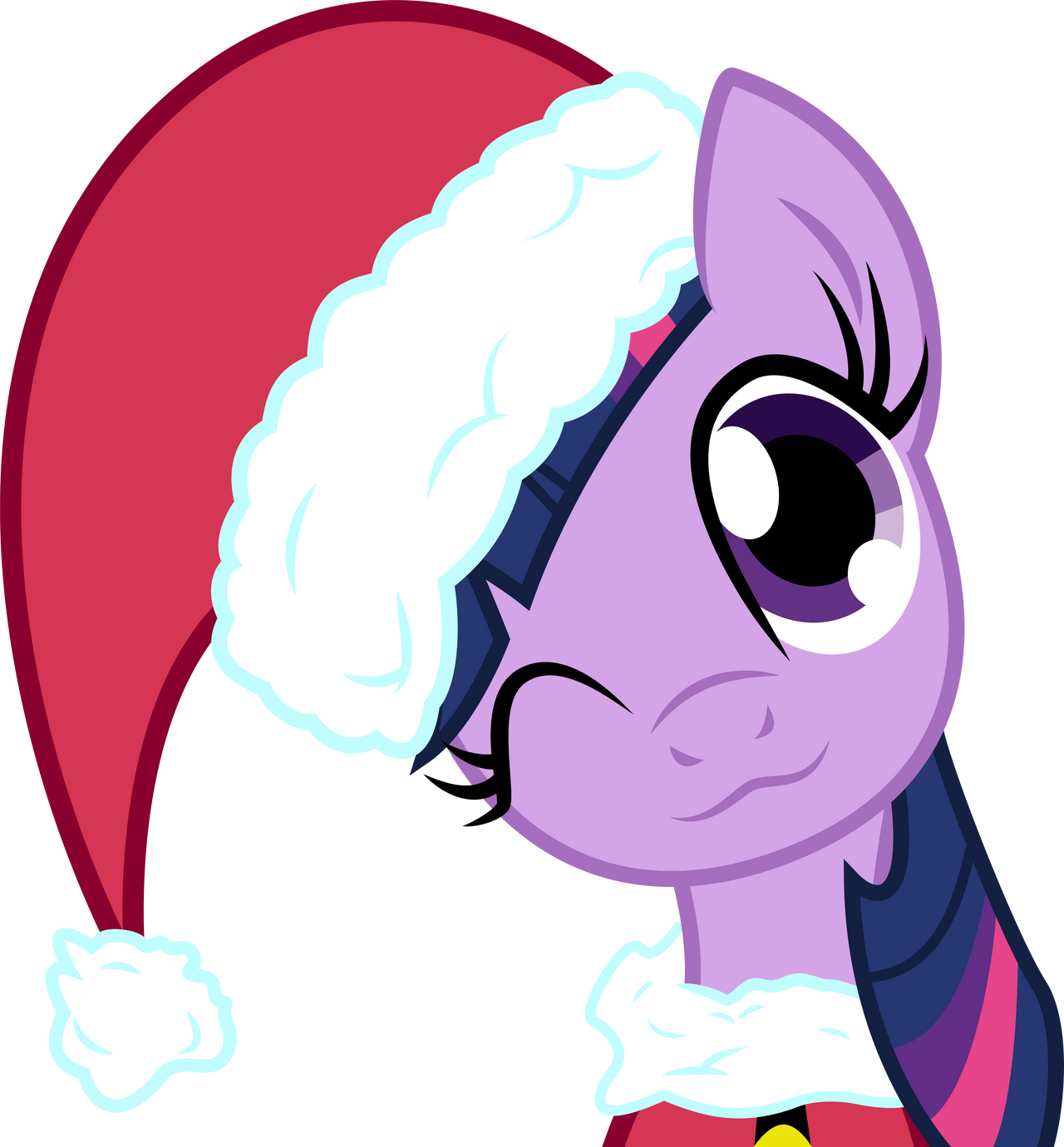 Sparkle Claus by LazyPixel