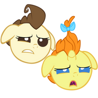 Pound and Pumpkin by LazyPixel