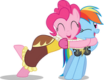 PinkieDash: Hearths Warming eve by LazyPixel