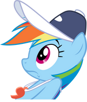 Rainbow Dash uh-oh by LazyPixel