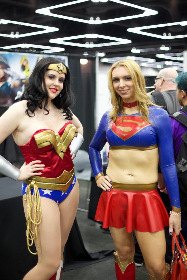 Rubber Latex Supergirl Bodysuit by ShhhCoutureLatex on Etsy
