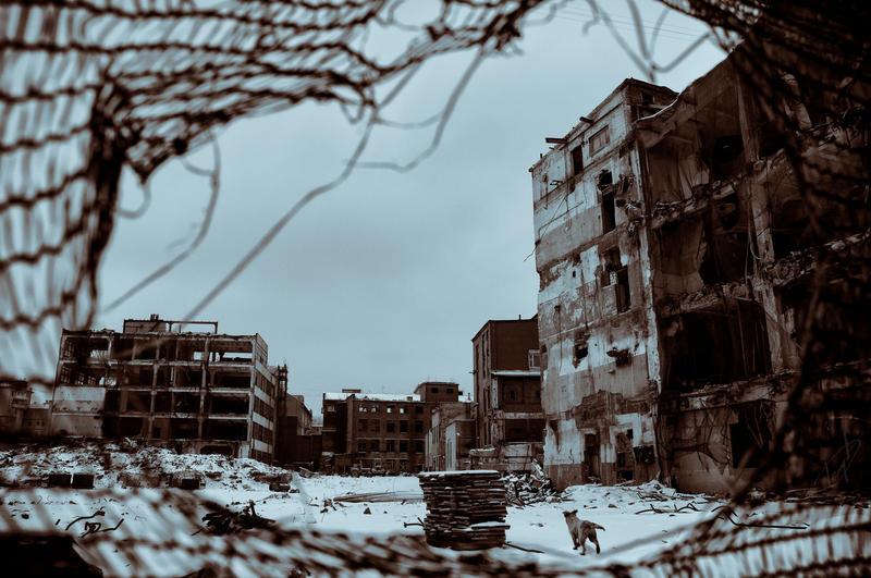 ruins dweller by Igor-Demidov