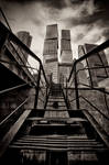 hard steps to the top by Igor-Demidov