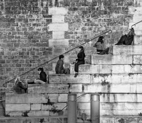 diagonal people by Igor-Demidov