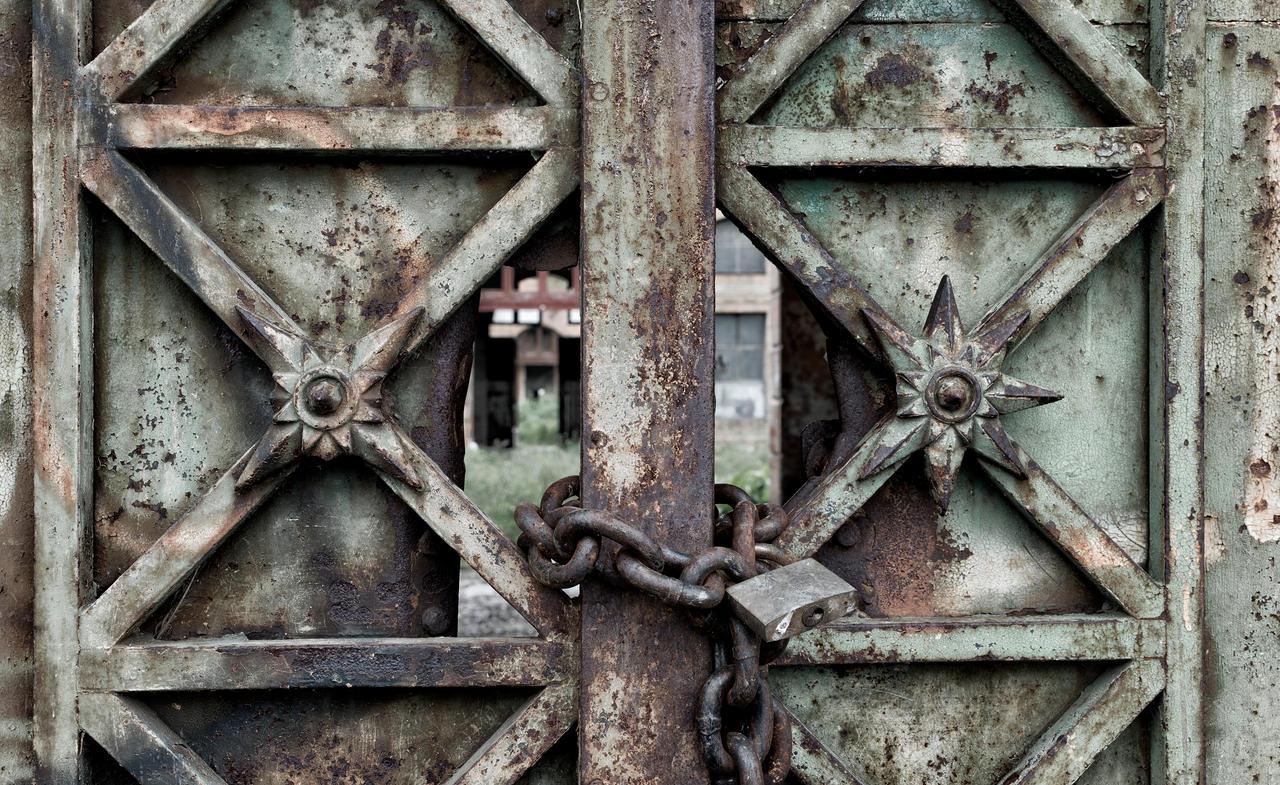 Green door is locked by Igor-Demidov