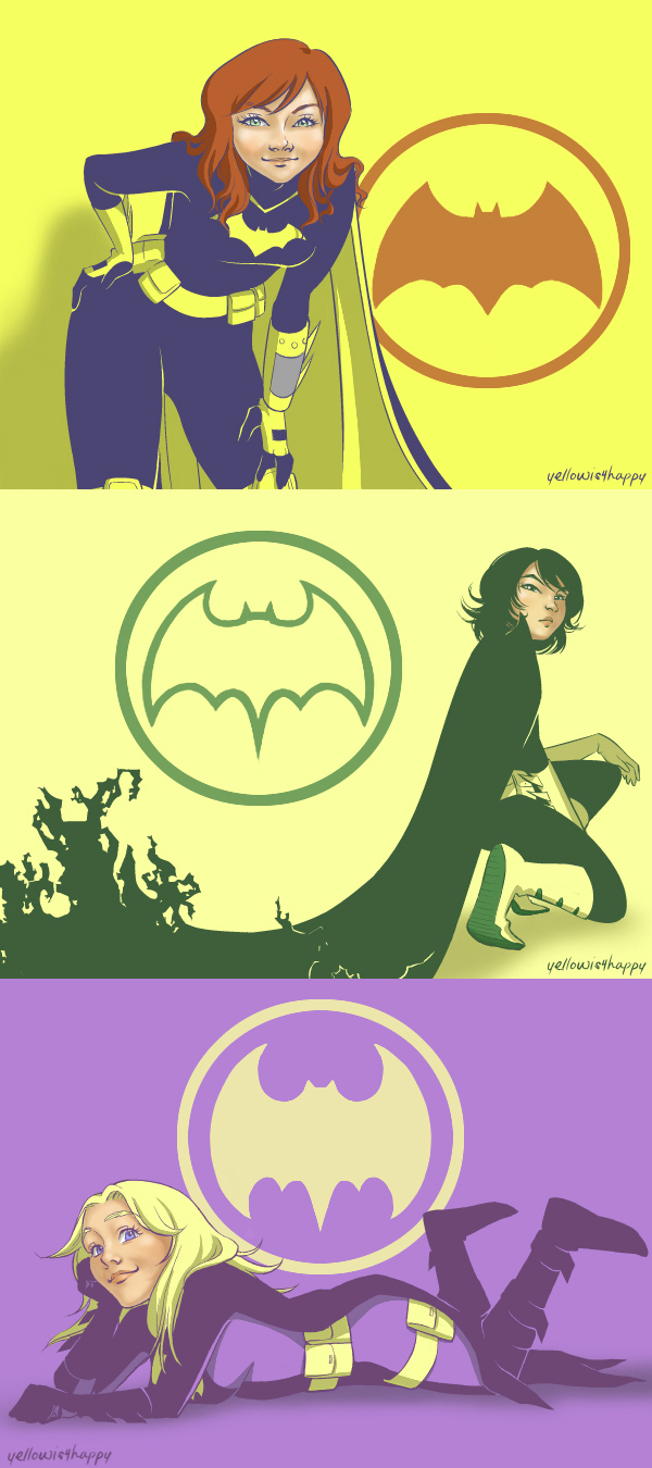 DC: Batgirl, Inc. by yellowis4happy
