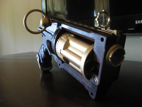 Steam Punk Revolver - Nerf Gun