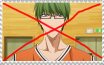 Anti Midorima Stamp by swagdoggos