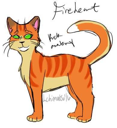Fireheart Ref by swagdoggos