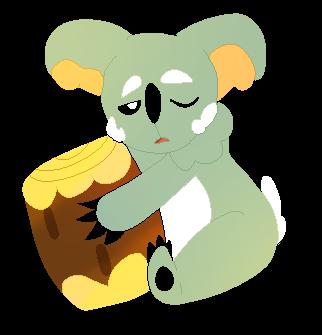 Nekkoala by swagdoggos