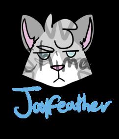 Jayfeather Sticker by swagdoggos