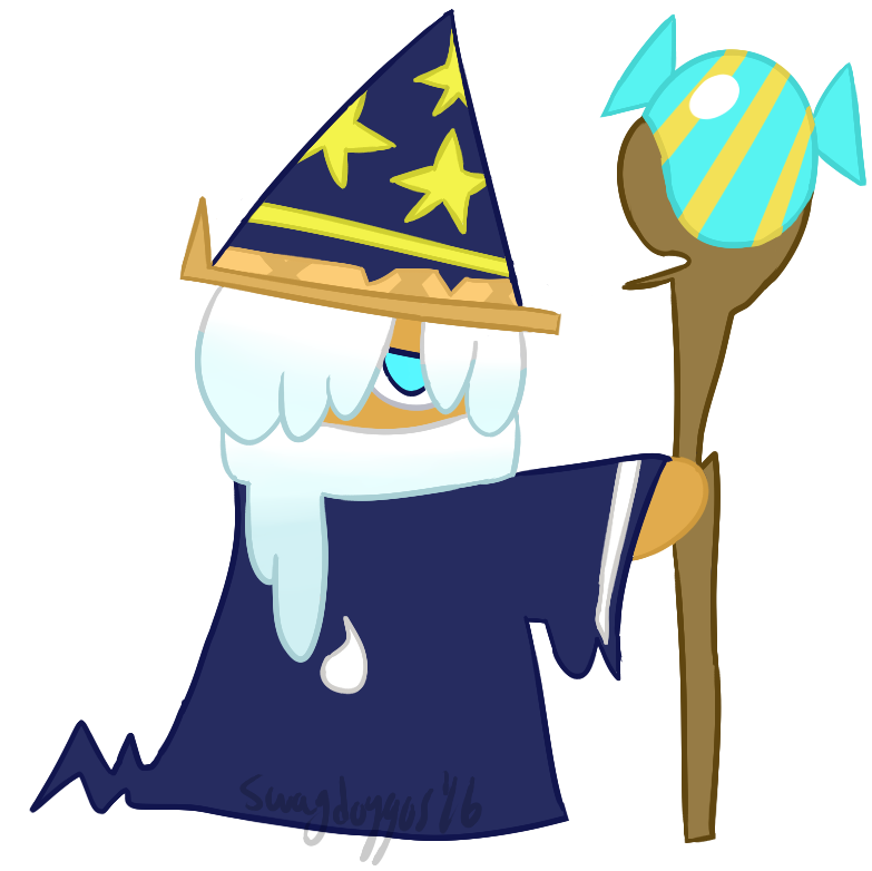Wizard Cookie by swagdoggos