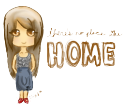 no place like home by pandachooo