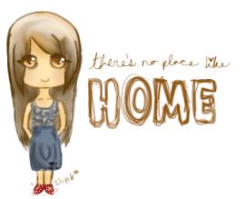 no place like home by pandachooo